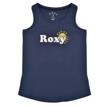 Oblačila Deklice Majice brez rokavov Roxy THERE IS LIFE FOIL Modra