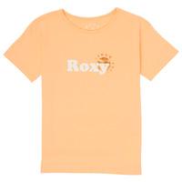 Oblačila Deklice Majice s kratkimi rokavi Roxy DAY AND NIGHT FOIL Rožnata