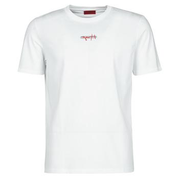 Oblačila Moški Majice s kratkimi rokavi HUGO DURNED Bela