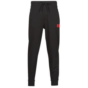 Oblačila Moški Spodnji deli trenirke  HUGO DOAK Črna