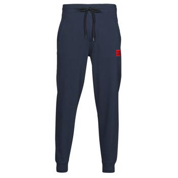 Oblačila Moški Spodnji deli trenirke  HUGO DOAK Modra