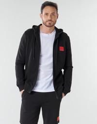Oblačila Moški Puloverji HUGO DAPLE Črna