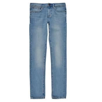 Oblačila Dečki Jeans skinny Teddy Smith FLASH Modra