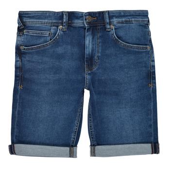 Oblačila Dečki Kratke hlače & Bermuda Teddy Smith SCOTTY 3 Modra