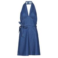 Oblačila Ženske Kratke obleke Molly Bracken EL902P21 Modra