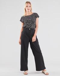 Oblačila Ženske Lahkotne hlače & Harem hlače Molly Bracken EF1424P21 Črna