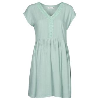 Oblačila Ženske Kratke obleke Molly Bracken G801E21 Zelena / Svetla