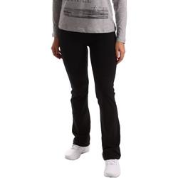 Oblačila Ženske Spodnji deli trenirke  Key Up 5LI20 0001 Črna