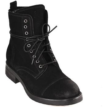 Čevlji  Ženske Gležnjarji Mally 5038 Črna