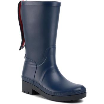 Čevlji  Ženske škornji za dež  Tommy Hilfiger FW0FW04583 Modra