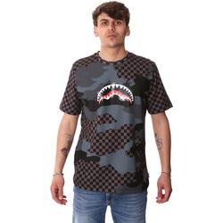 Oblačila Moški Majice s kratkimi rokavi Sprayground SP01820BLA Črna