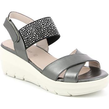 Čevlji  Ženske Sandali & Odprti čevlji Grunland SA1880 Črna