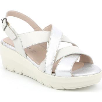 Čevlji  Ženske Sandali & Odprti čevlji Grunland SA1877 Biely