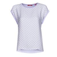 Oblačila Ženske Majice s kratkimi rokavi S.Oliver 14-1Q1-32-6972-48B2 Modra