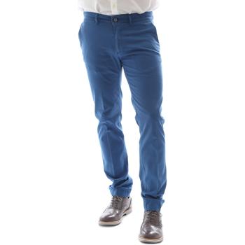Oblačila Moški Hlače Chino / Carrot Sei3sei 6DAYTONA E1649 Modra