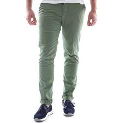 Oblačila Moški Hlače Chino / Carrot Sei3sei 6OYSTER E1648 Zelena