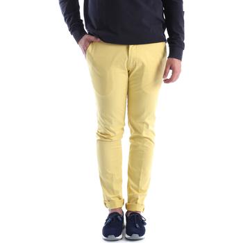 Oblačila Moški Hlače Chino / Carrot Sei3sei 6OYSTER E1648 Rumena