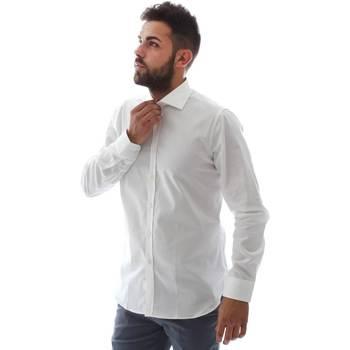 Oblačila Moški Srajce z dolgimi rokavi Gmf EQ2 1428 951106/01 Biely