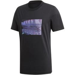 Oblačila Moški Majice s kratkimi rokavi adidas Originals DV2015 Črna