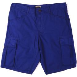 Oblačila Moški Kratke hlače & Bermuda Napapijri N0YHF6 Modra