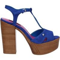 Čevlji  Ženske Sandali & Odprti čevlji Fornarina PE17KY1012S011 Modra