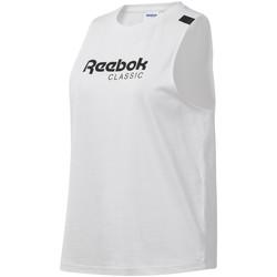 Oblačila Ženske Majice brez rokavov Reebok Sport DT7235 Biely