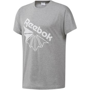 Oblačila Moški Majice s kratkimi rokavi Reebok Sport DT8213 Siva