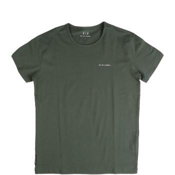 Oblačila Moški Majice s kratkimi rokavi Key Up 2G69S 0001 Zelena