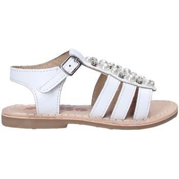 Čevlji  Deklice Sandali & Odprti čevlji Asso 65954 Biely