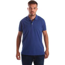 Oblačila Moški Polo majice kratki rokavi Navigare NV82086 Modra