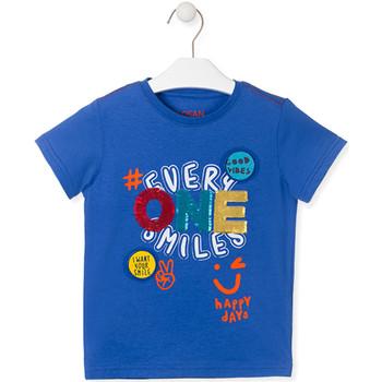 Oblačila Otroci Majice s kratkimi rokavi Losan 015-1032AL Modra