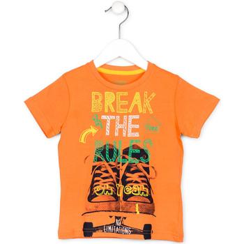 Oblačila Otroci Majice s kratkimi rokavi Losan 715 1214AC Oranžna
