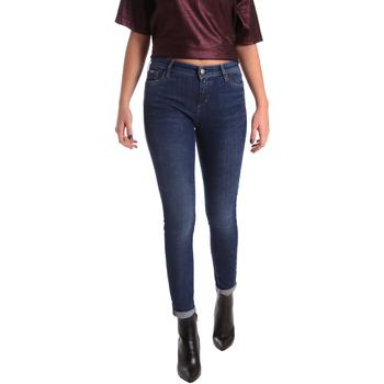 Oblačila Ženske Kavbojke slim Gas 355652 Modra