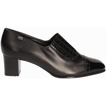 Čevlji  Ženske Mokasini Valleverde V12024 Črna