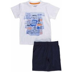 Oblačila Otroci Otroški kompleti Losan 815-8045AC Biely
