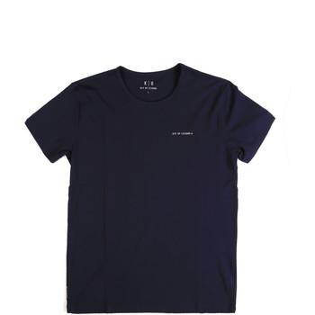 Oblačila Moški Majice s kratkimi rokavi Key Up 2G69S 0001 Modra