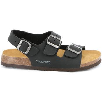 Čevlji  Moški Sandali & Odprti čevlji Grunland SB3645 Črna