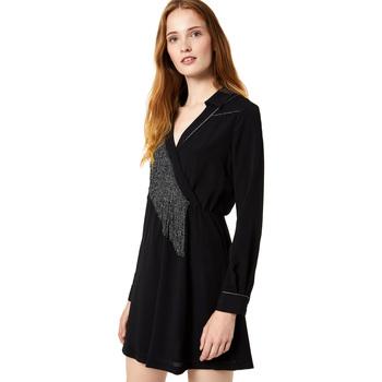 Oblačila Ženske Kratke obleke Liu Jo F69292 T9121 Črna