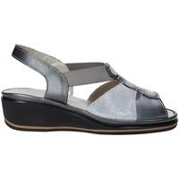 Čevlji  Ženske Sandali & Odprti čevlji Grunland SA1412 Siva