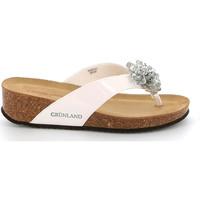 Čevlji  Ženske Japonke Grunland CB2482 Biely