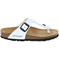 Čevlji  Otroci Japonke Grunland CB0926 Biely
