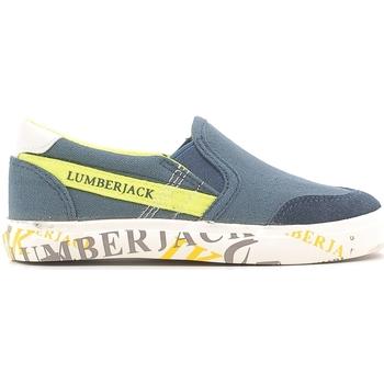 Čevlji  Otroci Slips on Lumberjack SB09105 003 N58 Modra