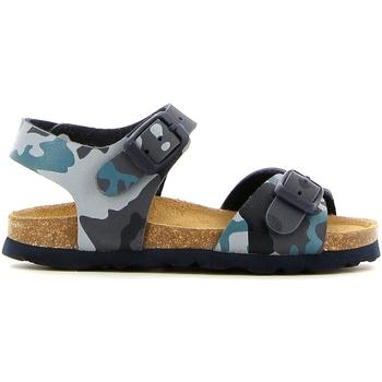 Čevlji  Deklice Sandali & Odprti čevlji Grunland SB0169 Modra
