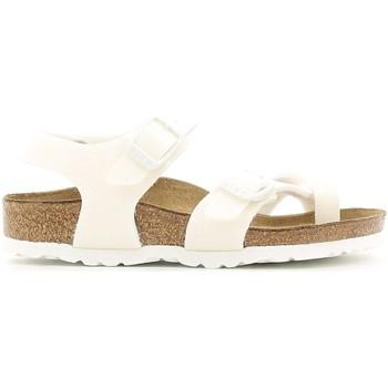 Čevlji  Deklice Sandali & Odprti čevlji Birkenstock 371593 Biely