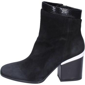 Čevlji  Ženske Gležnjarji Hogan BK687 Črna