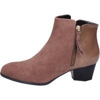 Čevlji  Ženske Gležnjarji Hogan BK688 Rjav