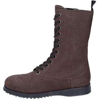 Čevlji  Ženske Gležnjarji Hogan BK691 Rjav