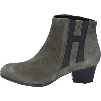 Čevlji  Ženske Gležnjarji Hogan BK698 Zelena
