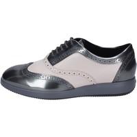Čevlji  Ženske Čevlji Richelieu Hogan BK703 Siva