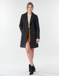 Oblačila Ženske Plašči Only ONLNATALIA Črna